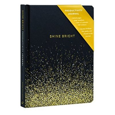 shine bright productivity journal