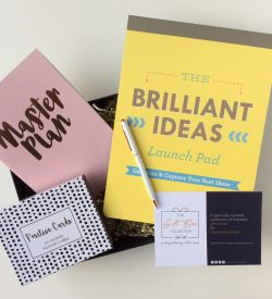 Entrepreneur stationery gift box