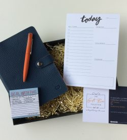 New job stationery gift box