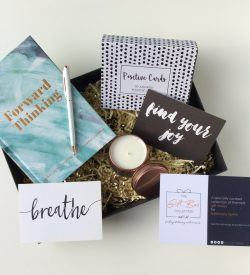 Positivity and mindfulness gift box