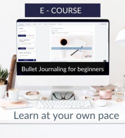Bullet Journaling for beginners E course