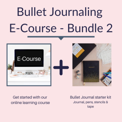 Bullet Journal E Course and starter gift box