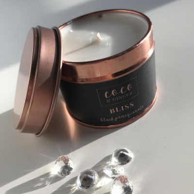 Bliss Candle Black Pomegranate