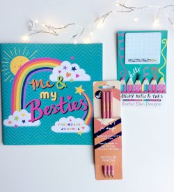 Girls Stationery Gift Bundle