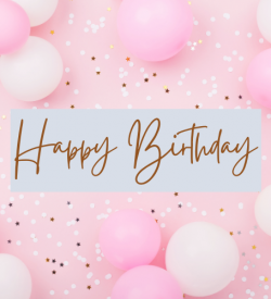 Birthday Balloons gift card